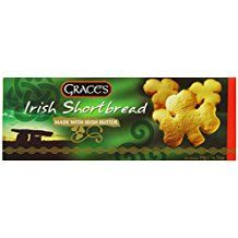 Irish Shamrock Shortbread -