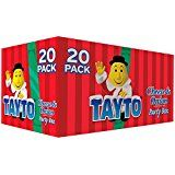 Tayto Cheese and Onion Crisps - case of 20