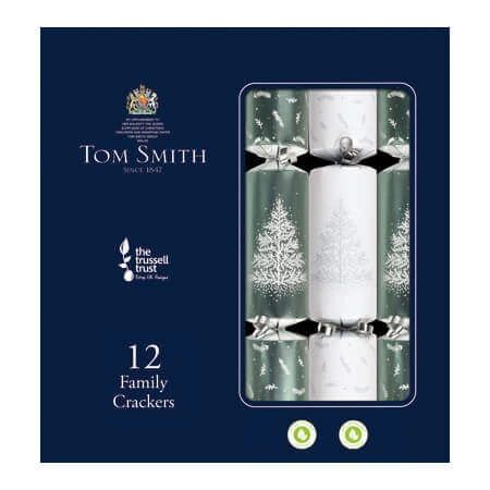 Tom Smith 12 Silver Table Crackers