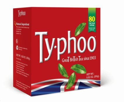 Typhoo Tea 80 count bags