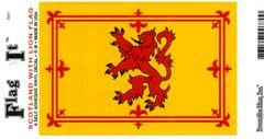 Scotland Lion Decal