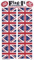 Union Jack Mini Stickers (50)