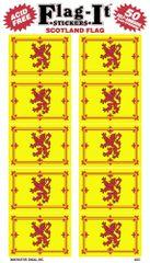Scotland Lion Mini Stickers (50)