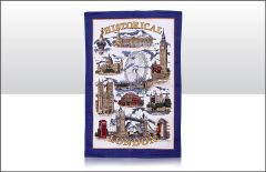 Historical London Tea Towel