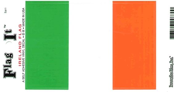 Ireland Decal