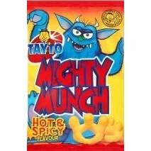 Mighty Munch. Hot and Spicy snacks - Out of Stock