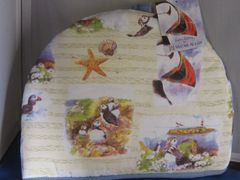 Puffins and Seaside Tea Cozy
