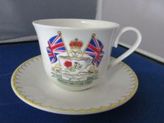 Great British Breakfast Cup and Saucer
