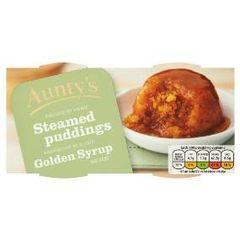 Goblin Golden Syrup pudding
