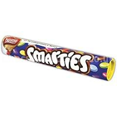 Smarties Giant Tubes