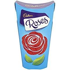 CADBURY ROSES LARGE CARTON 180g