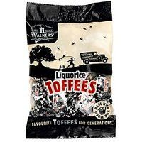 Walkers Licorice Toffees Bags