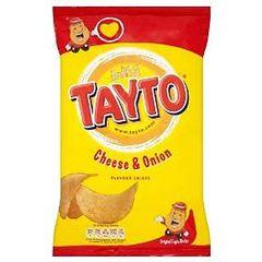 Tayto Cheese and Onion Crisps