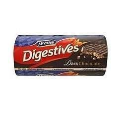 McVities Digestives with Dark Chocolate