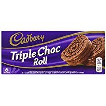 Cadbury Triple Choc Roll Out of stock
