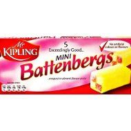 Mr Kipling Battenburg Cakes