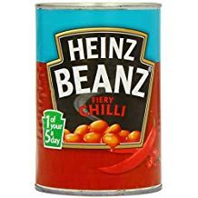 Heinz Beans with Chili