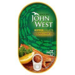 Kipper Fillets in tins. John West