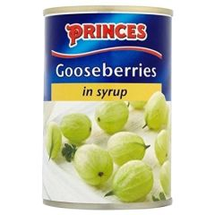 Princes Gooseberries in Syrup 360g out of stock