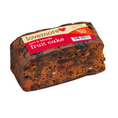 Lovemore Port and Brandy Fruit Cake - gluten free