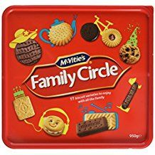 Family Circle Assorted Biscuits - 620g