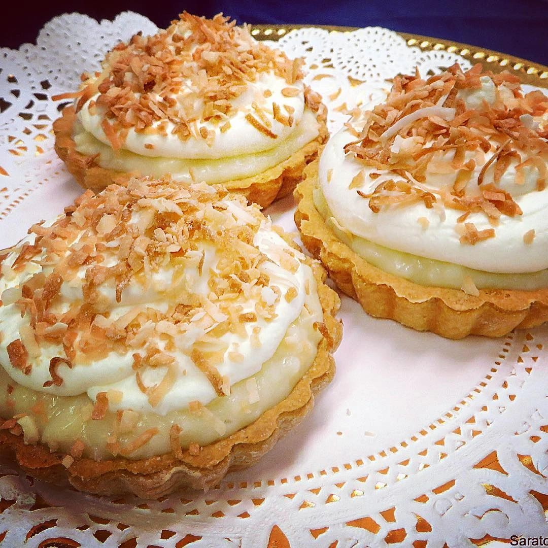mini pie, mini pies, coconut cream pie, italian bakery
