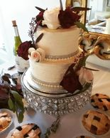 anniversary cake, tiered cake, wedding cake