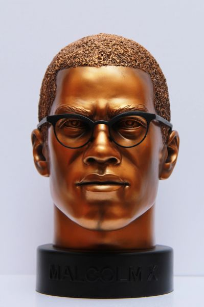Malcolm X Bust Plus TRACKING