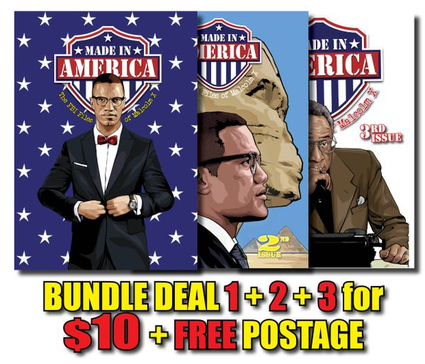 SPECIAL BUNDLE DEAL! All Three Issues! #1 + #2 + #3 + FREE Shipping Worldwide!