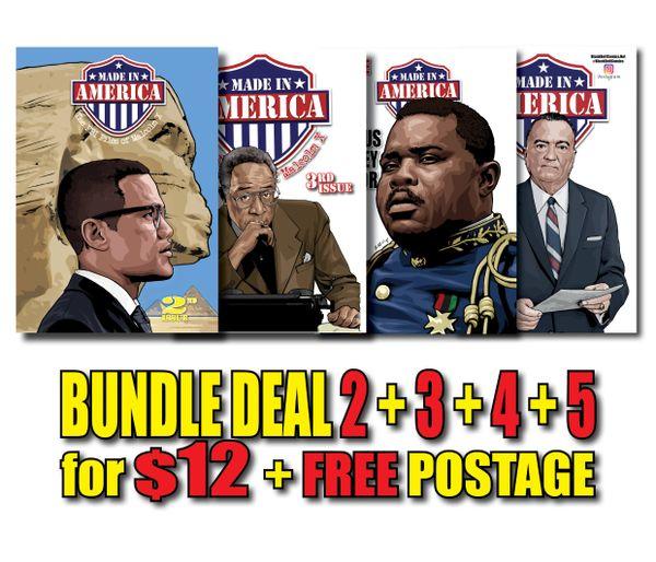 GOT #1 ALREADY? Then Get #2+#3+#4+5+Free Postage