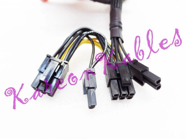 Dell 09H6FV R720 GPU Power Splitter Power 9H6FV Riser to GPGPU Cable