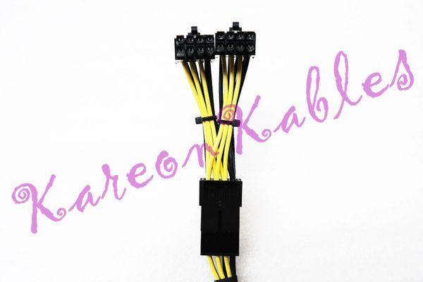 Dell Precision T5600 90 Degree 8-Pin GPU Power Cable