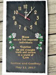 WEDDING CLOCK #1