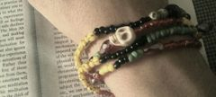 Beads & Crystals (Yellow/Red/Black/Green)