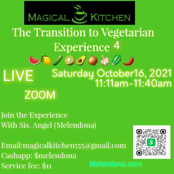 Transitioning to vegetarian