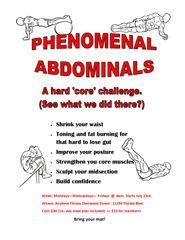 PHENOMENAL ABDOMINALS