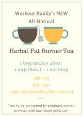 HERBAL FAT BURNER TEA