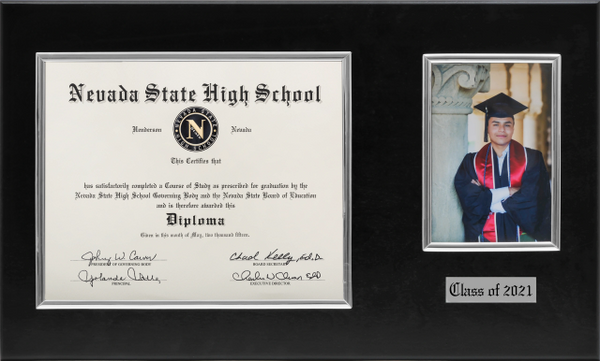 Diploma and Photo Frame