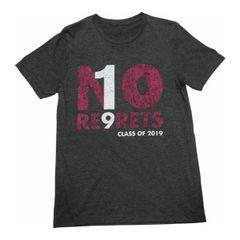 No Regrets T-Shirt (navy)