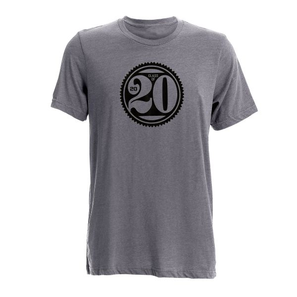 Ahead Instant Classic Class of '20 T-Shirt (GREY SHIRT WITH WHITE IMAGE)