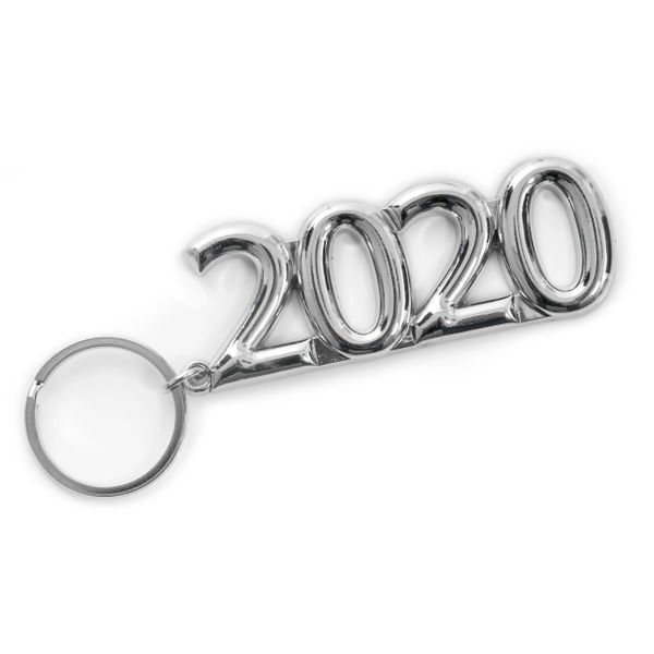 2020 Silvertone Key Ring