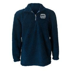 Proud Parent Sherpa 1/4 Zip Pullover