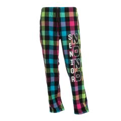 Women's 2020 Neon Flannel Pants