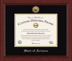 Diploma Frame with State Seal