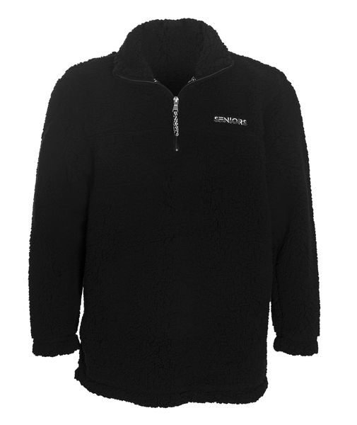 Black Sherpa 1/4 Zip Pullover