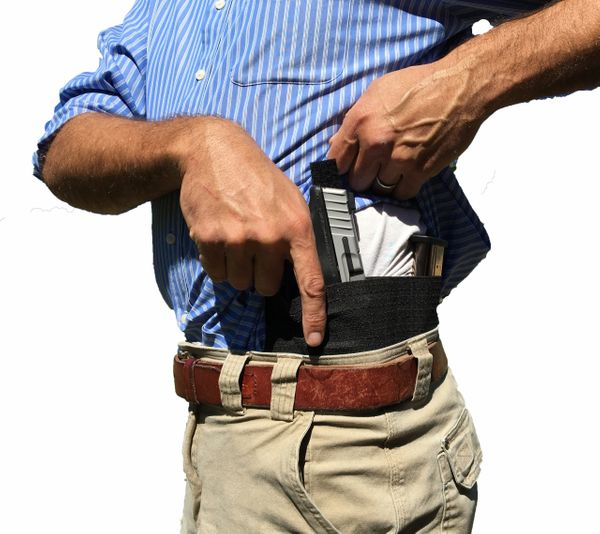 Cross Draw Belly Band Holster