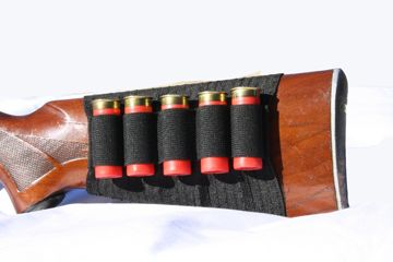 Shotgun Butt Stock Sleeve- Holds up to 10 Shells