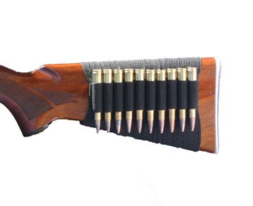 Rifle Butt Stock Sleeve-Holds up to 20 Cartridges