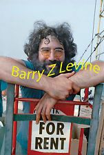 JERRY GARCIA 8X10 PRINT AUTOGRAPHED BY BARRY Z LEVINE