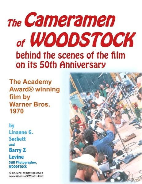 The Camermen of Woodstock eBook - available on Amazon - a look behind the scenes of the film